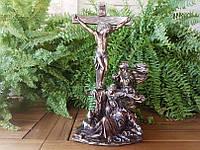 Коллекционная статуэтка Veronese Распятие Иисуса WU75187A4
