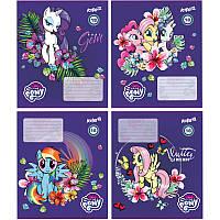 Тетрадь My Little Pony 18 листов, клетка Kite, LP18-236