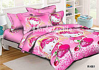 Детский комплект постельного белья хелло китти