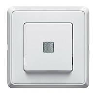 Выключатель с индикацией 10А Legrand Cariva Белый (773610)