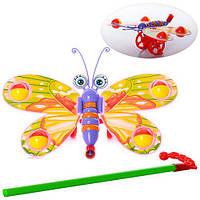 Игрушка - каталка на палочке «Бабочка»W882-11