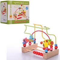 Деревянная игрушка лабиринт MD 1048