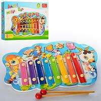 Детский музыкальный инструмент ксилофонE12587-88