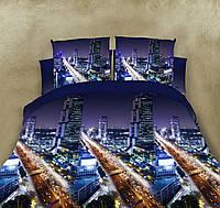 Постільна білизна двохспальна 180*220 бавовна (7606) TM KRISPOL Україна