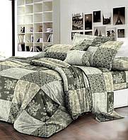Постільна білизна двохспальна 180*220 бавовна (7607) TM KRISPOL Україна