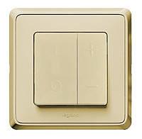 Светорегулятор Кнопочный 40-600Вт Legrand Cariva Слоновая Кость (773715)