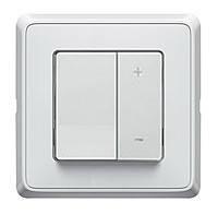 Светорегулятор Кнопочный 40-600Вт Legrand Cariva Белый (773615)