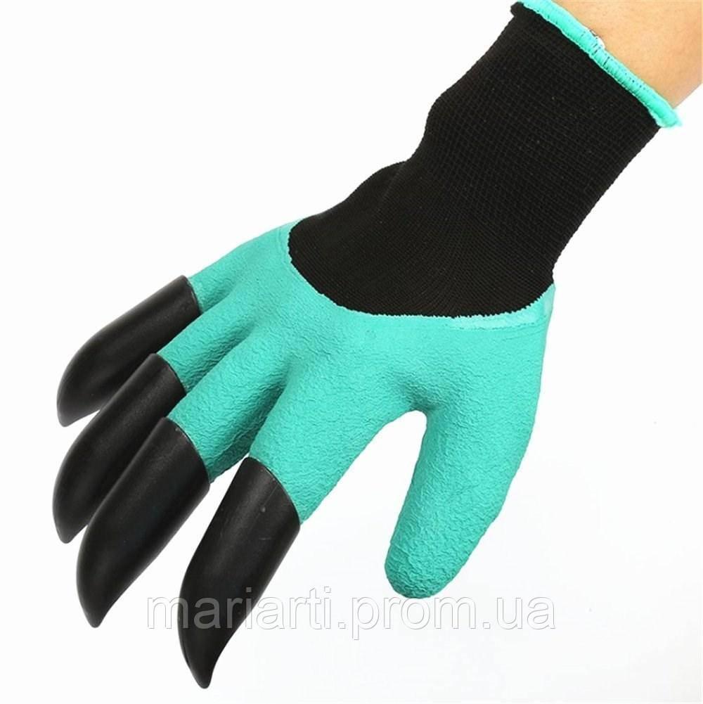 """Садовые перчатки с когтями Garden Genie Gloves - Интернет магазин """"Temas"""" в Измаиле"""