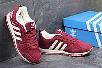 Кроссовки Adidas бордовые 2522