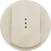 Лицевая панель 1-клавишная для выключателя с подсветкой и индикацией Legrand Celiane Слоновая Кость (66210)