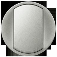 Лицевая панель выключатель одноклавишный Legrand Celiane Титан (68301)