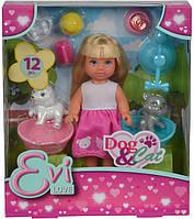 Кукольный набор Simba Evi. Домашние животные с аксессуарами (5733044)