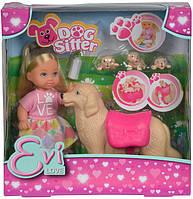 Кукольный набор Simba Эви. Няня для щенков с аксессуарами (5733072)