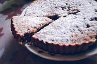 Сельский пирог с фисташками