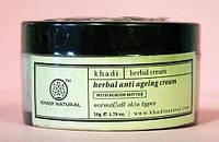 Крем Кхади от старения, Khadi Herbal anti ageing cream, 50гр