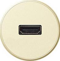 Лицевая панель для розеток аудио/видео HDMI Legrand Celiane Слоновая Кость (66288)