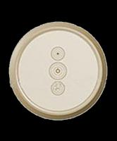 Лицевая панель для сенсорного выключателя и управления рольставнями Legrand Celiane Слоновая Кость (66286)