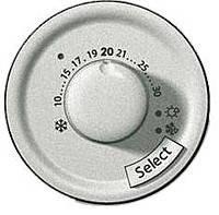 Лицевая панель для термостата с датчиком для теплого пола Legrand Celiane Титан (68549)