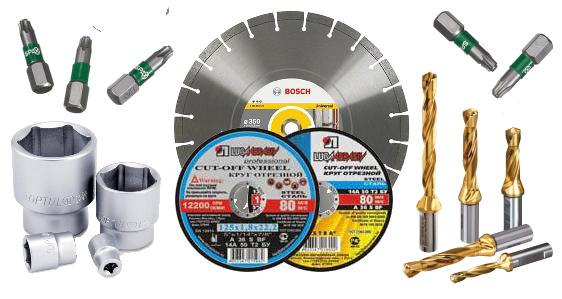 Расходные материалы для электроинструмента в магазине TM Best