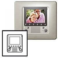 Лицевая панель дополнительный внутренний видеоблок Legrand Celiane Титан (68505)