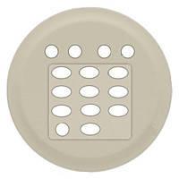 Лицевая панель Накладка дополнительного модуля для тюнера Legrand Celiane Слоновая Кость (66246)