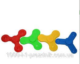 Спиннер пластиковый однотонный