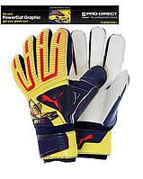Вратарские перчатки Puma PowerCat 1.12 Grip , фото 1