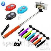 Монопод для селф MONOPOD для смартфонов и экшн камер Z07-1 черный о