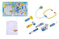 """Детский игровой набор для девочек """"Доктор в халате"""" 9911BC (с аксессуарами)"""