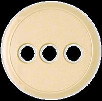 Лицевая панель розеток аудио/видео (RCA, RCA/S-video, YUV) Legrand Celiane Слоновая Кость (66278)