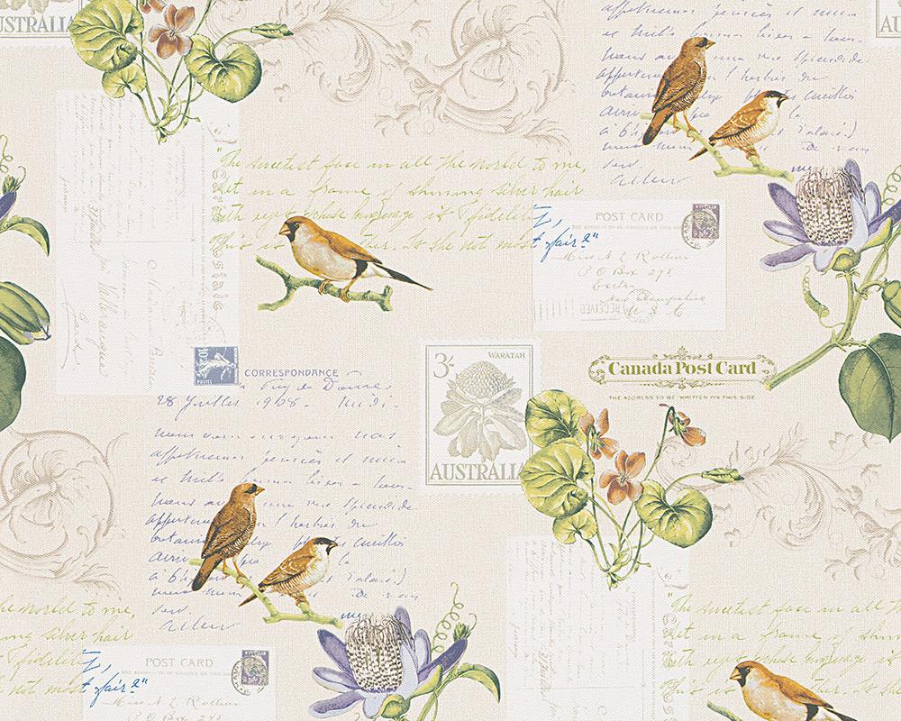 Обои бумажные с изображением птиц 959482.