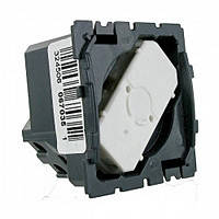Механизм выключатель кнопочный нажимной с нажимным контактом одноклавишный Legrand Celiane (67035)