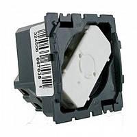 Механизм выключатель кнопочный проходной с фиксацией одноклавишный Legrand Celiane (67015)