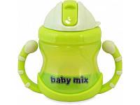 Детский поильник (непроливайка) с трубочкой Baby Mix (RA-C1-1711)