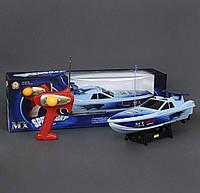 Детский катер на батарейках