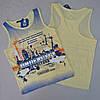 Майка для мальчика 5-8 лет. Blueland, Турция.  Детсике футболки, модные футболки для мальчиков летние