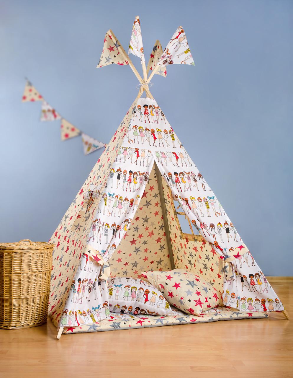 Вигвам - палатка  «Модница»