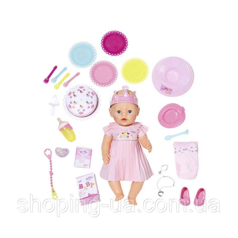 Кукла интерактивная Baby Born День рождения Zapf Creation 824054, фото 1