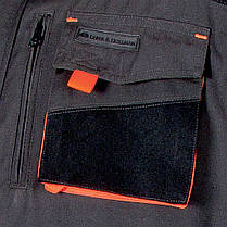 Куртка FORMEN рабочая Leber&Hollman Польша (одежда рабочая) LH-FMN-J SBY, фото 3