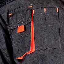 Куртка FORMEN рабочая Leber&Hollman Польша (одежда рабочая) LH-FMN-J SBY, фото 2
