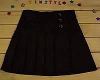 Школьная юбка для девочки  на рост 116-146