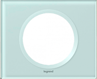 Рамка 1-постовая Legrand Celiane Смальта/Белая Глина (69311)