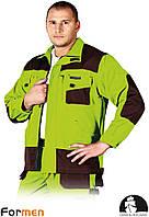 Куртка FORMEN рабочая Leber&Hollman Польша (одежда рабочая) LH-FMN-J LBR