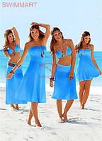 Платье-парео для пляжного отдыха Тренд 2018