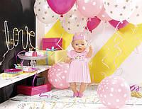 Кукла интерактивная Baby Born День рождения Zapf Creation 824054