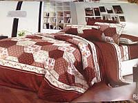Полуторный набор постельного белья Ранфорс 132