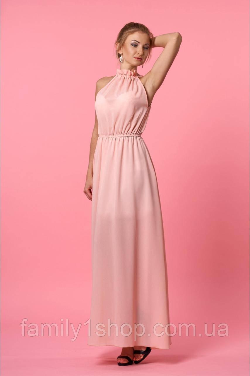 45013141518 Женское летнее платье в пол