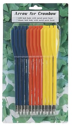 Стрелы для арбалета PL-3C, пластиковые, 12 шт., фото 2