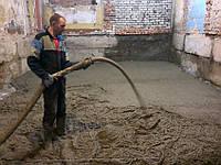 Влаштування плити підлоги по грунту. Полістиролбетон.
