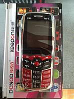 Мобильный телефон DONOD DX6,2симки,чехол   о